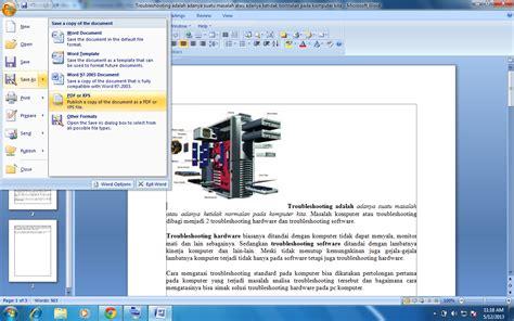 membuat artikel pdf membuat pdf dari ms word dengan tool saveaspdfandxps