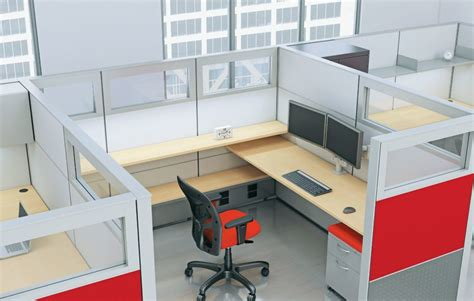 cubicle office furniture cubicles should you shop for new or used davis office