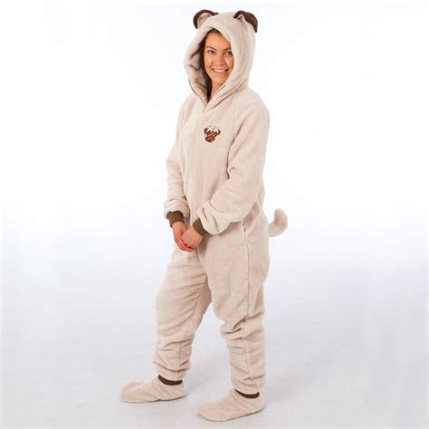 onesies for pugs pug onesie by the all in one company notonthehighstreet