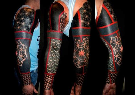black and red tattoos for men 70 ink designs for masculine ink ideas