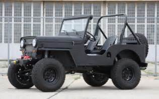 Icon Jeeps Icon Cj3b Willy Jeep Replica Cool Material