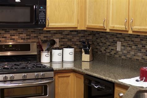 kitchen stick on backsplash peel and stick kitchen backsplash ideas