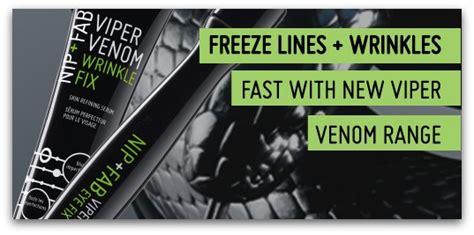 Nip Fab Viper Venom Wrinkle Fix anti aging product review nip fab viper venom wrinkle