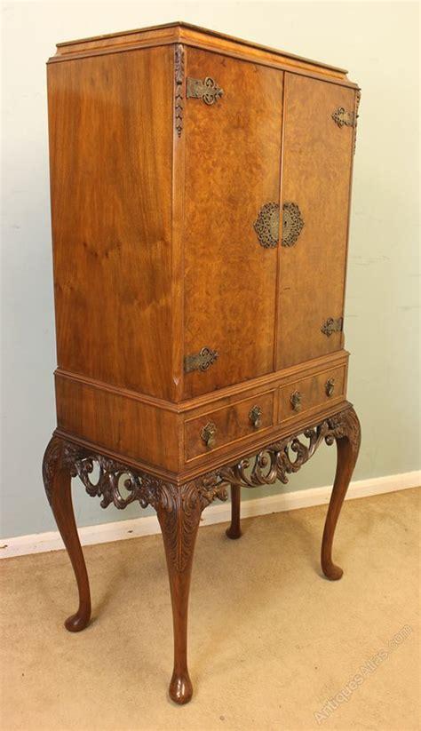 burr walnut cocktail drinks cabinet antiques atlas