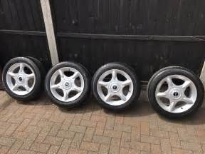 Alloy Wheels For Mini Cooper Mini Cooper Alloy Wheels 16 With Tyres 163 140 00 Picclick Uk