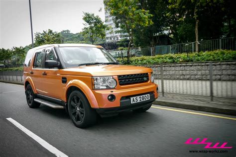 orange land rover discovery land rover discovery is an awesome orange chameleon