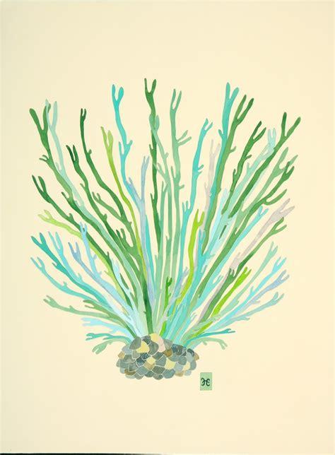 watercolor tattoo hessen artwork by hesse seaweed seaweed sea