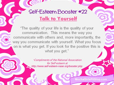 Fashion As Self Esteem Booster by Self Esteem Booster Of The Week Talk To Yourself Mocha