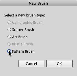 pattern brush options creating a pattern brush in illustrator cc using a raster
