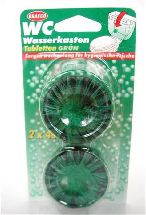 Wc Wasserkasten Reinigen 2714 by Wasserkasten Tablette 2er Gr 252 N Wc Reiniger