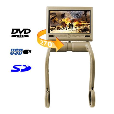 Dvd Player Tekyo in car entertainment 7 inch tft lcd armrest monitor with