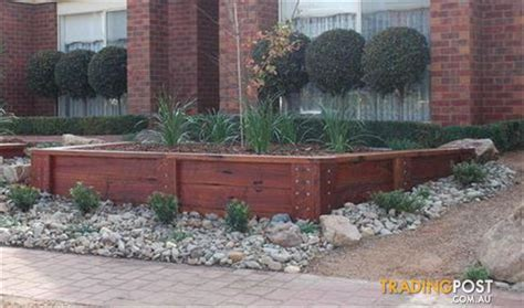 Landscape Edging Stones For Sale Hardwood Sleeper Garden Edging For Sale In Moorooka Qld