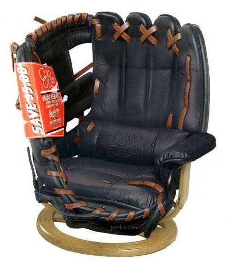 Whoa Nellie A Bar Room Baseball Glove Chair