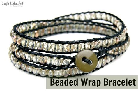 wrap bracelet diy diy wrap bracelet tutorial crafts unleashed