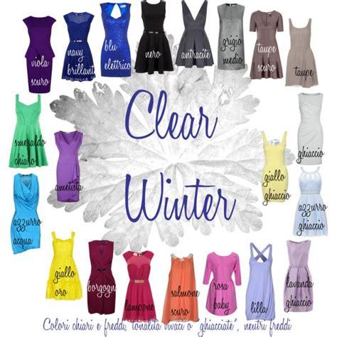 clear winter color palette clear winter color palette my colour palette