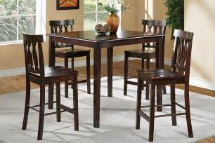 High Dining Room Table And Chairs High Dining Tables And Chairs Marceladick