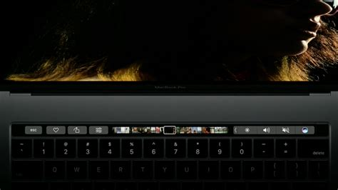 Macbook Pro Touch Bar review macbook pro 2016 with touch bar ส มผ สแห งอนาคต