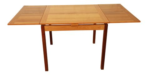Square Extension Dining Table Ansager Mobler Square Modern Teak Extension Dining Table Chairish