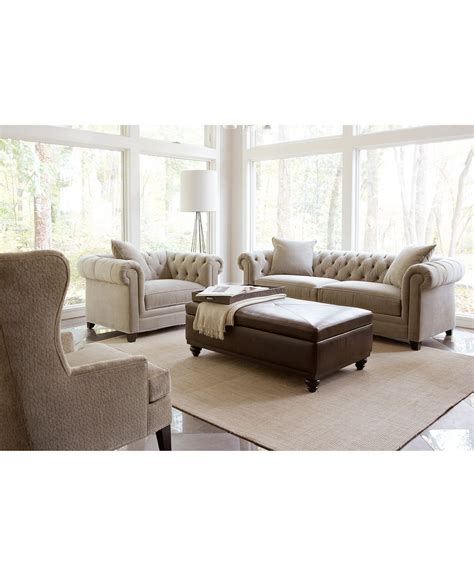 saybridge living room furniture collection created  macys decor living room furniture