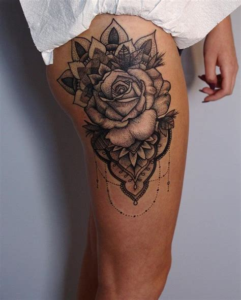 rose thigh tattoo designs the 632 best images about best design idea on