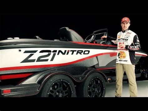 nitro boats z21 elite nitro boats z21 elite walkaround with edwin evers youtube