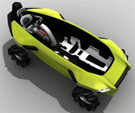 Ambulans Tanpa Supir arsia3000 vw rescue rover concept yang stylish bisa di darat di air