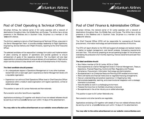 Chief Operating Officer Duties by 187 Chief Operating And Technical Officer Chief Finance