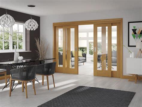 pattern  internal oak door  clear glass