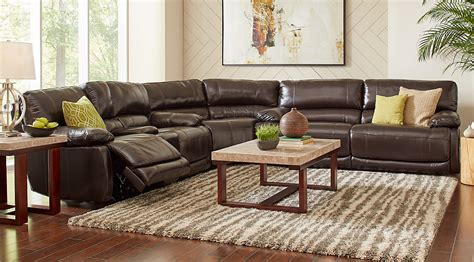 cindy crawford auburn hills sofa review sectional brown leather sofa brown sectional sofas you ll
