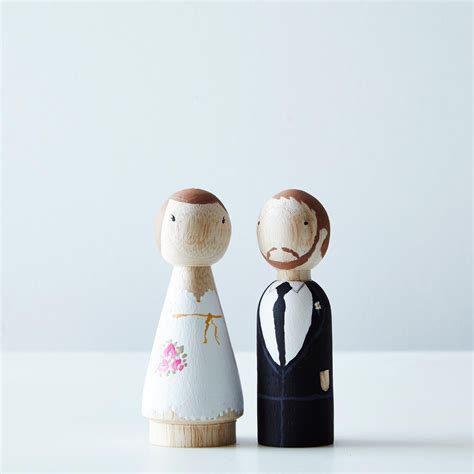 diy wedding cake topper kit on food52