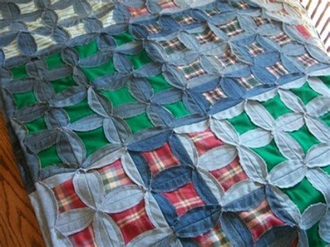 How To Make A Quilt Out Of Shirts by A Quilt Out Of Clothing Thriftyfun