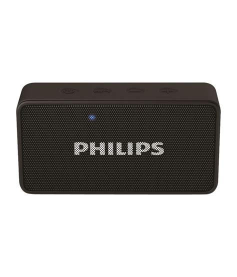 Speaker Bluetooth Philips philips bt64 bluetooth speaker black buy philips bt64 bluetooth speaker black at