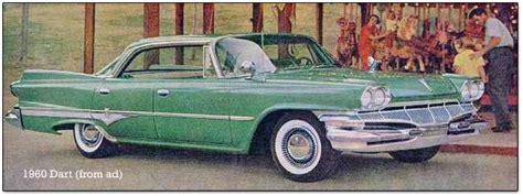Dodge 1960s Models Downsized Dodges The 1960 1962 Darts