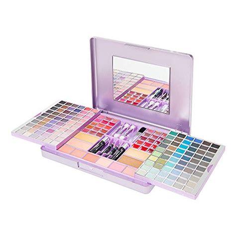1 Set Makeup Garnier s accessories metallic purple sliding makeup set
