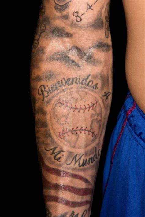 javier baez tattoo the of javier baez as told by his tattoos