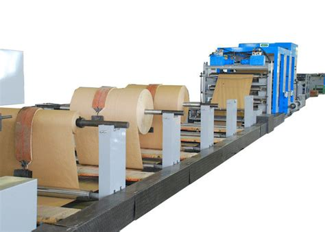 Paper Bag Machines - servo system kraft paper bag manufacturing machine tea