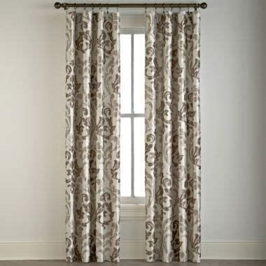 jcp curtain panels trivoli rod pocket curtain panel found at jcpenney