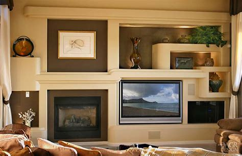 design home entertainment center custom drywall entertainment centers guesswork with