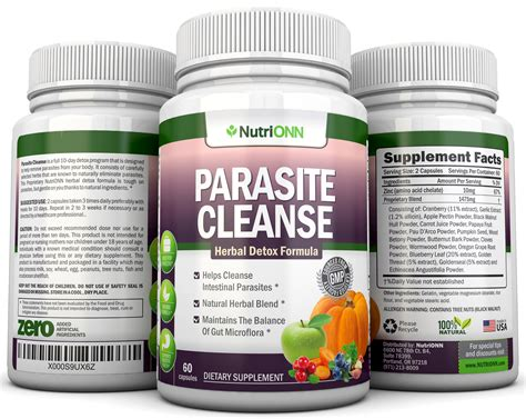 Herbal Parasite Detox by Parasite Cleanse 10 Day Detox Program Promotion