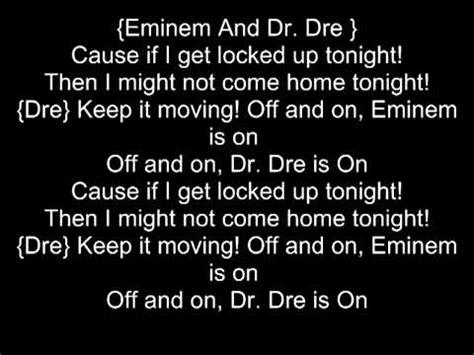 eminem if i had lyrics if i get locked up tonight eminem lyrics youtube