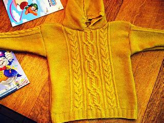 Lace Up Pointale Sweater Colorbox ravelry knit n style april 2009 patterns