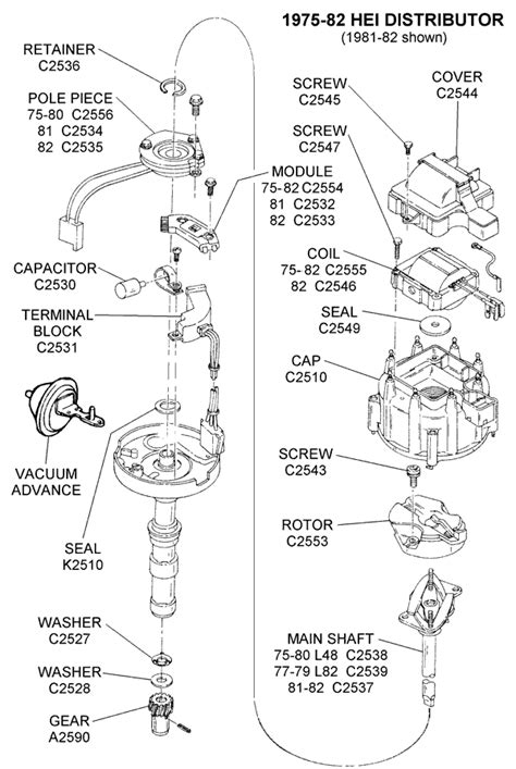 hei distributor diagram chevy 350 hei engine wiring diagram get free image about