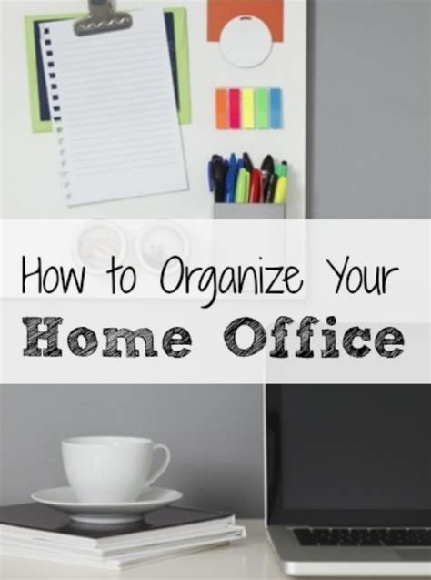 how to organize your office debt free spending