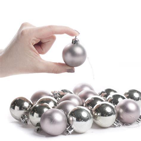 small silver christmas ball ornaments christmas