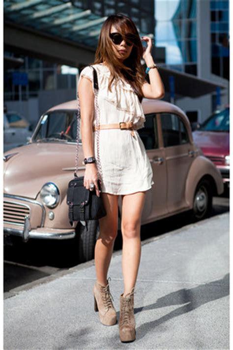 st dress marcella tosca lita jeffrey cbell boots ivory glassons dresses