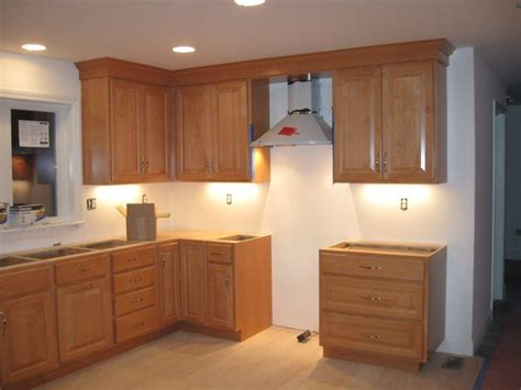 putting crown molding on kitchen cabinets cool crown molding kitchen cabinets on came in today and