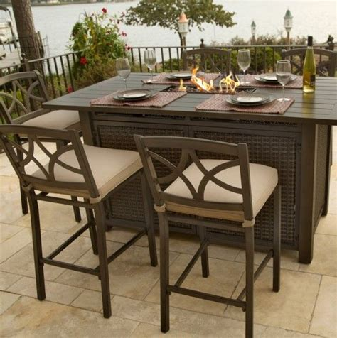 bar height outdoor table only 50 best pit images on places