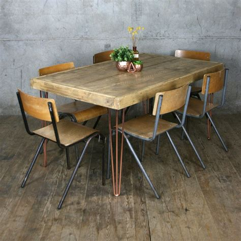 hairpin table and chairs hairpin leg dining table gallery bar height dining table set