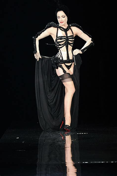 Gaultier Show A Come True For Dita by The Dita Teese For Jean Paul Gaultier