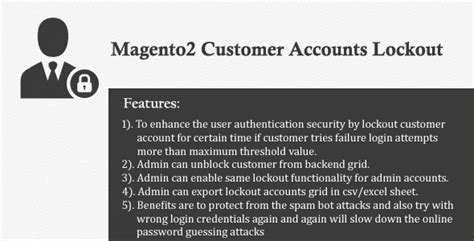 themeforest username is invalid magento2 customer accounts lockout envato